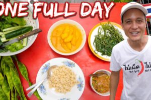 A Day In The Life of a Food Vlogger 🌶️ EVERYTHING I Eat in One Day at Home 🇹🇭 Bangkok, Thailand!!