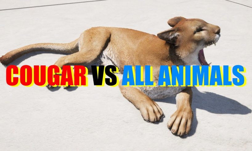 Far Cry 5 Arcade - Animal Fight: Cougar vs All Animals