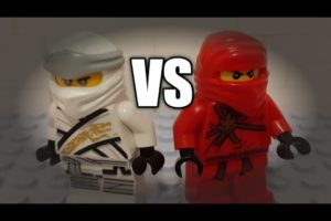 LEGO STREET FIGHT: ZANE VS KAI - Short Stop-Motion animation