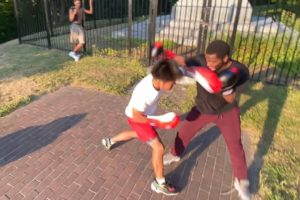 STREET BOXING FIGHT🥊