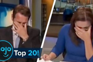 Top 20 Hilarious News Reporting Fails