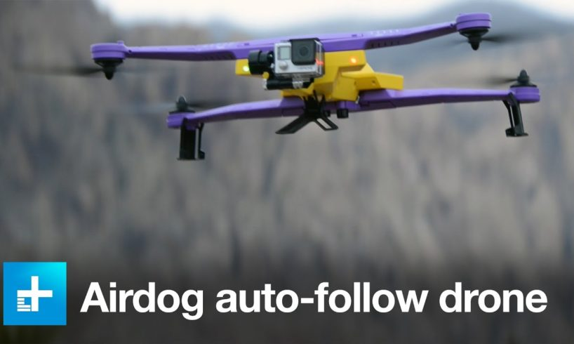 AirDog Extreme Sports Follow Drone - Hands On at CES 2016