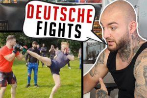 Erste DEUTSCHE Street Fight Liga! Top Dog Konkurrenz in Deutschland? DEFEND FC RINGLIFE reaction