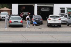Street fight - 9 September 2020 - Toronto
