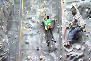 Adaptive Extreme Sports - Rock Climbing (Wheelchair user) (Paraplegic)