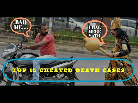 Cheating Death Compilation   Close Calls