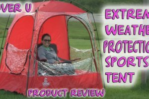 Extreme Sports Weather Pod Tent Shelter CoverU- Product Review