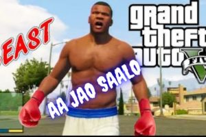 GTA 5 : STREET FIGHTING in HINDI + FREE ROAM + POLICE CHASE + FULL MASTI (Part 5)