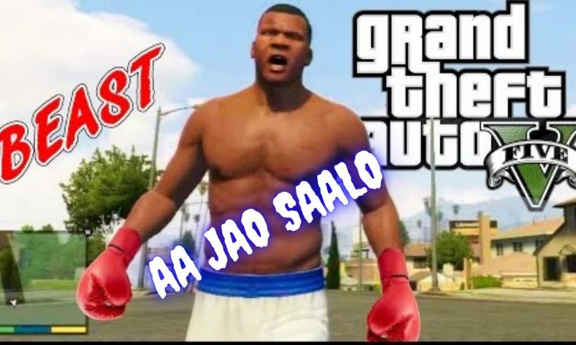 GTA 5 : STREET FIGHTING in HINDI + FREE ROAM + POLICE CHASE + FULL MASTI (Part 5)