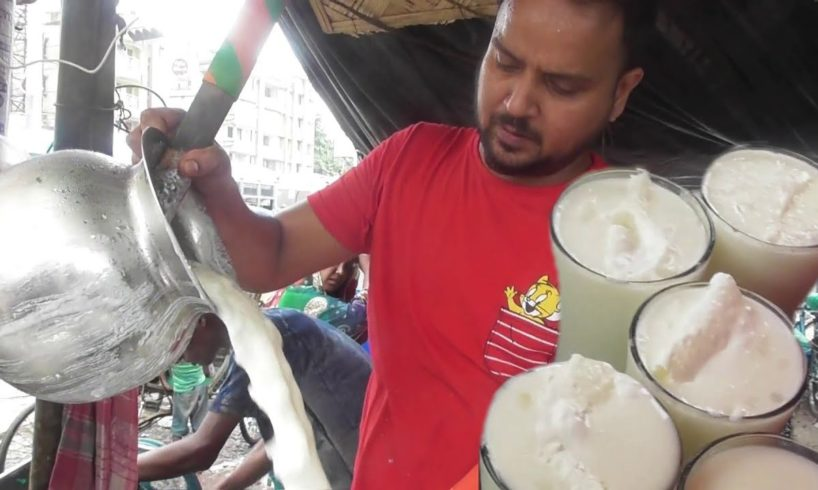 1000 Of Lassi Glass Sold Out in A Day   People Enjoying Cool Street Drinks   Street Food India