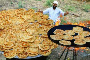 Lachha Parata Recipe || Arabian Chicken Recipe with Making Lachha Paratha Kerala style LachhaParatha