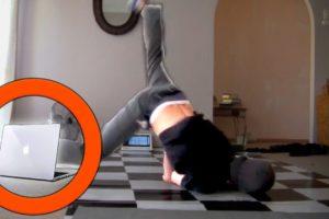 Man Breaks Laptop Breakdancing: Fails of The Week | FailArmy