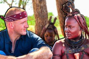 RARE Tribal Food of Namibia!! Himba Life and Food!!