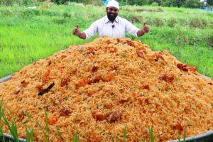 Schezwan Chicken Egg Fried Rice recipe | Chicken Rice | Tasty Fried Rice recipe Nawabs kitchen