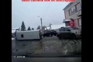 truck accident, bad drive, dash camera photo, Accident in road,
