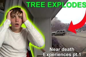 ALMOST Died? Near death compilation!! Pt.1 (REACTION)