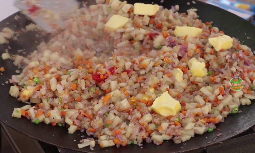 Cheese Masala Pav Recipe ||For little angels|| Nawab's Kitchen