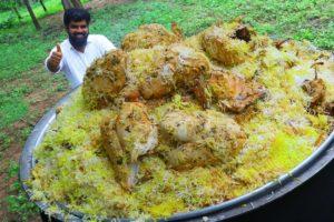 Full Chicken Biryani //15 Chickens Biryani |Traditional Chicken Biryani for needy people by Nawabs