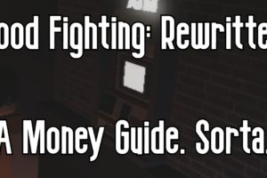 HOOD FIGHTING: REWRITTEN - THE BASICS OF MONEY - ROBLOX