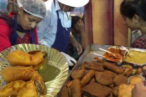 Huge Snacks Item Selling at Kolkata Ahare Bangla Food Festival|Fish Fry|Prawn Fry|Indian Street Food