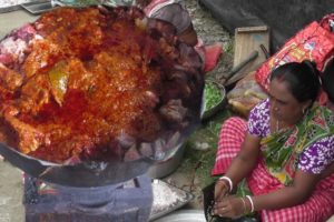 Indian Food at Village | Shahi Mutton Curry Making for 300 People | Street Food India Recipe