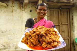 Mouth Watering Mutton Masala   Yummy Mutton recipe   మటన్ కర్రీ  Village Kitchen   అమ్మ చేతి వంట  