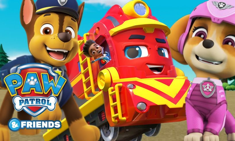 PAW Patrol and Mighty Express Episodes! Cartoons for Kids Compilation 51 - PAW Patrol & Friends