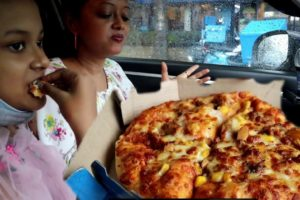Pizza Party | Rainy Day Car Picnic | Had A Great Time Spend with Family