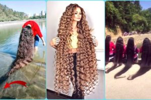 Rapunzel in Real Life 2020 🌺 Extremely Very Long Hair Girls! Amazing hair! People are awesome