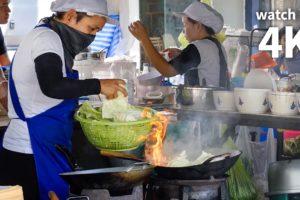 Thai Street Food of Your Dreams in Bangkok (ร้าน หน่องริมคลอง) - Giant Pad Kee Mao Crab!