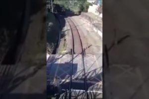 Train FAILS! | Near Death Experience | #shorts