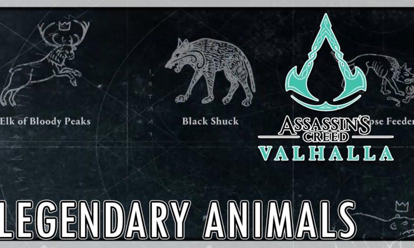 Assassin's Creed Valhalla - All Legendary Animal Fights