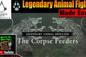 Assassins Creed Valhalla - The Corpse Feeders - Legendary Animal Fights Made Easy