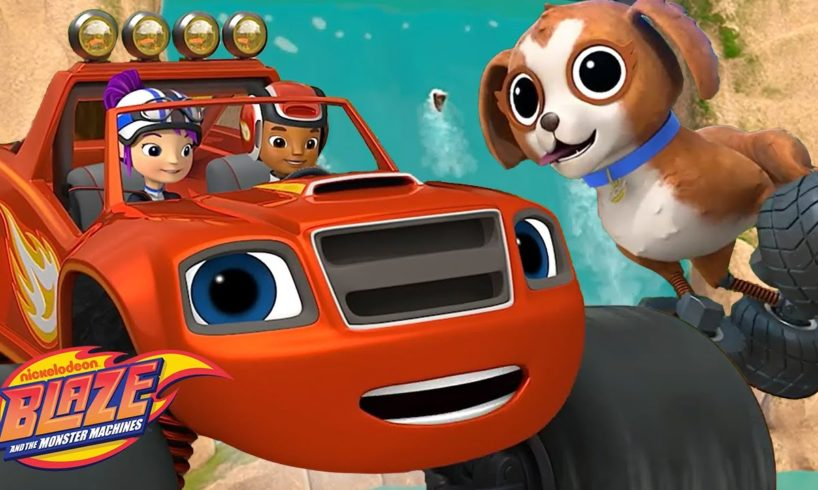 Blaze Rescues Gabby's Dog! | Blaze and the Monster Machines