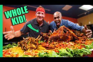 Eating Somalia!! Africa's MYSTERY Cuisine!!
