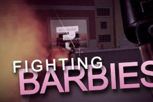 Fighting Barbies