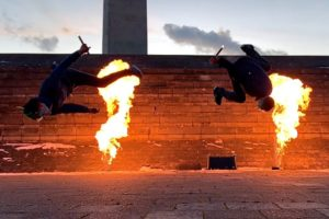 Flipping Over Fire & More! | Awesome Archive