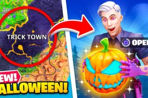 HALLOWEEN'S COME *EARLY*! (Fortnite Trick or Treat Town)