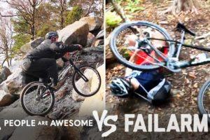 Mountain Bike Wins Vs. Fails & More! | People Are Awesome Vs. FailArmy