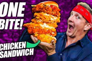 One Bite Challenge: Chicken Sandwich Edition!!!!