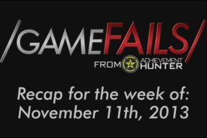 Recap for the Week of November 11th, 2013