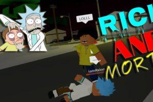 Rick and Morty return to da hood*fighting barbs*(Pt.2)