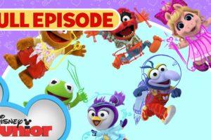 Sir Kermit the Brave 🐸 / Animal Fly Airplane ✈️ | Full Episode | Muppet Babies | @Disney Junior