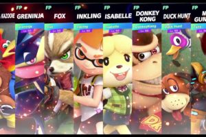Super Smash Bros Ultimate Amiibo Fights   Banjo Request #27 Animal free for all