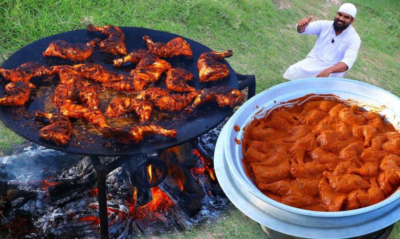 Tandoori Chicken without oven   How To Make Chicken Tandoori on Tawa by  Nawabs kitchen