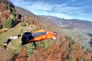 Wingsuiting Down A Mountain & More! | Awesome Archives