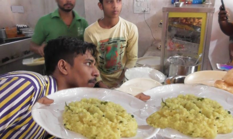 """"""" Ramareddy Tiffin Center Hyderabad """"   20 RS Plate   Best Choice for South Indian People"""