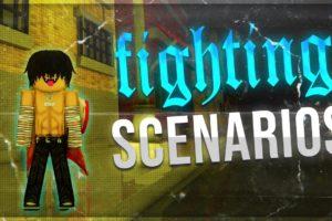 Da Hood - Fighting Scenarios