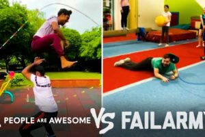 Amazing Jump Rope Wins Vs. Fails & More! | People Are Awesome Vs. FailArmy