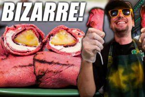BIZARRE American Fair Food!! STRANGE & SATISFYING Flavor Combinations! | Minnesota State Fair Food